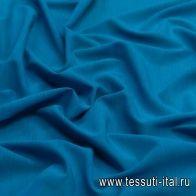Маркизет стрейч (о) темно-голубой - итальянские ткани Тессутидея