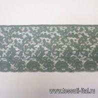 Кружево (о) светло-зеленое ш-8см  - итальянские ткани Тессутидея