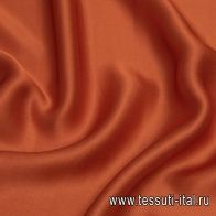 Шармюз (о) терракотовый - итальянские ткани Тессутидея арт. 10-2166