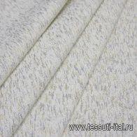 Шанель (н) белая с серебряно-золотым напылением - итальянские ткани Тессутидея