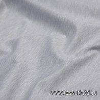 Джерси (о) светло-серое меланж - итальянские ткани Тессутидея арт. 13-1490