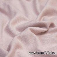 Пальтовая(о) бледно-розовая в стиле Prado - итальянские ткани Тессутидея