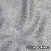 Пальтовая альпака Сури (о) серая меланж - итальянские ткани Тессутидея