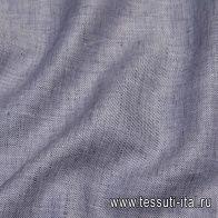 Лен (о) фиолетовый меланж - итальянские ткани Тессутидея