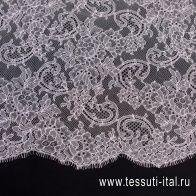 Кружевное полотно (о) светло-розовое Solstiss - итальянские ткани Тессутидея арт. 03-6491