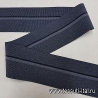 Резинка с полосой серая ш-7-8см в стиле Fabiana Filippi - итальянские ткани Тессутидея