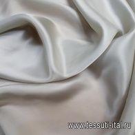 Подкладочная (о) светло-серо-зеленая - итальянские ткани Тессутидея