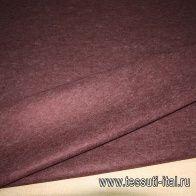 Декоративный фильц (о) бордовый меланж ш-100см - итальянские ткани Тессутидея арт. 09-0769