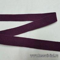 Тесьма бордовая, изумрудная ш-2,5см в стиле Fabiana Filippi - итальянские ткани Тессутидея