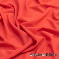 Маркизет стрейч (о) красный - итальянские ткани Тессутидея