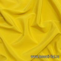Крепдешин стрейч (о) шафрановый - итальянские ткани Тессутидея арт. 10-2108
