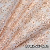 Шитье (о) светло-персиковое - итальянские ткани Тессутидея