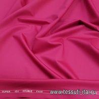 Плательная шерсть супер (о) Leitmotiv малиновая - итальянские ткани Тессутидея