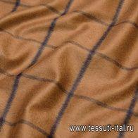 Костюмная (н) сине-коричневая клетка - итальянские ткани Тессутидея арт. 05-3856
