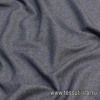 Трикотаж шерсть дабл (о) серый - итальянские ткани Тессутидея