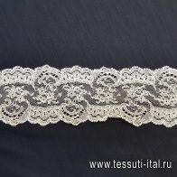 Кружево (о) айвори ш-7см Solstiss - итальянские ткани Тессутидея