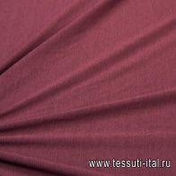 Трикотаж мерсеризованный хлопок (о) бордовый в стиле La Perla - итальянские ткани Тессутидея арт. 12-1022