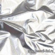Плащевая (о) серебряная - итальянские ткани Тессутидея арт. 11-0421