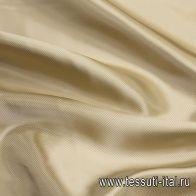 Подкладочная твил (о) бежевая - итальянские ткани Тессутидея