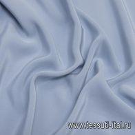 Шелк кади (о) светло-серо-голубой - итальянские ткани Тессутидея арт. 10-2029