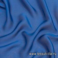 Шармюз (о) синий - итальянские ткани Тессутидея арт. 10-2097