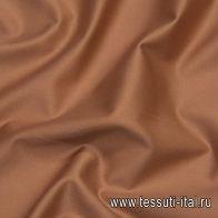 Хлопок костюмный стрейч (о) коричневый - итальянские ткани Тессутидея