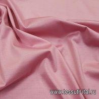 Трикотаж мерсерезированный хлопок (о) розово-бежевый - итальянские ткани Тессутидея