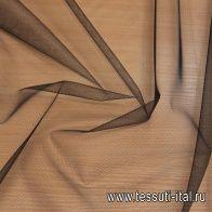 Сетка фатин (о) черная - итальянские ткани Тессутидея арт. 03-6616