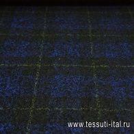 Костюмная (н) черно-бежево-желтая ш-150см - итальянские ткани Тессутидея арт. 05-2237