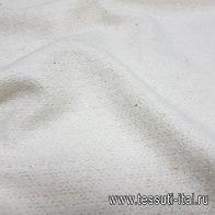 Костюмная букле (о) айвори - итальянские ткани Тессутидея