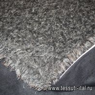Мех искусственный (н) бежево-коричневый - итальянские ткани Тессутидея