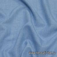 Плательная деним (о) светло-синяя - итальянские ткани Тессутидея