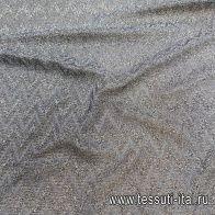 Трикотаж с люрексом (н) серый в стиле Missoni - итальянские ткани Тессутидея