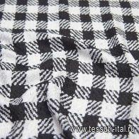 Шанель с люрексом (н) черно-белая - итальянские ткани Тессутидея