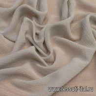 Маркизет крэш (о) светло-серый в стиле F. Filippi - итальянские ткани Тессутидея