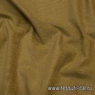 Вельвет (о) горчичный - итальянские ткани Тессутидея