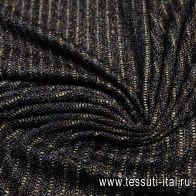Шанель (н) черно-бронзовая - итальянские ткани Тессутидея