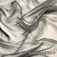 Органза (о) серая - итальянские ткани Тессутидея арт. 10-1488