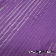 Плиссе (о) фиолетовое - итальянские ткани Тессутидея