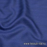 Костюмная (о) в елочку темно-синяя - итальянские ткани Тессутидея арт. 05-3984