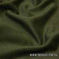 Пальтовая (о) хаки - итальянские ткани Тессутидея арт. 09-1770