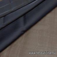 Органза (о) черная - итальянские ткани Тессутидея арт. 10-1711