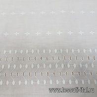 Шитье (о) белое в стиле Scervino - итальянские ткани Тессутидея