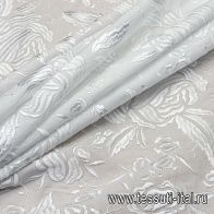 Батист с вышивкой (о) белый в стиле D&G - итальянские ткани Тессутидея