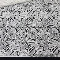 Кружевное полотно (о) айвори в стиле Scervino - итальянские ткани Тессутидея арт. 01-6500