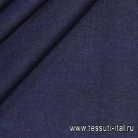 Джинса селвидж стрейч (о) темно-синяя - итальянские ткани Тессутидея арт. 01-6666