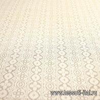 Кружевное полотно (о) топленое молоко  - итальянские ткани Тессутидея