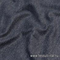 Трикотаж шерсть (н) серая елочка - итальянские ткани Тессутидея