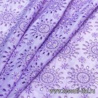Шитье (о) сиреневое - итальянские ткани Тессутидея