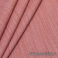 Шанель твид (о) бежево-розовая меланж - итальянские ткани Тессутидея